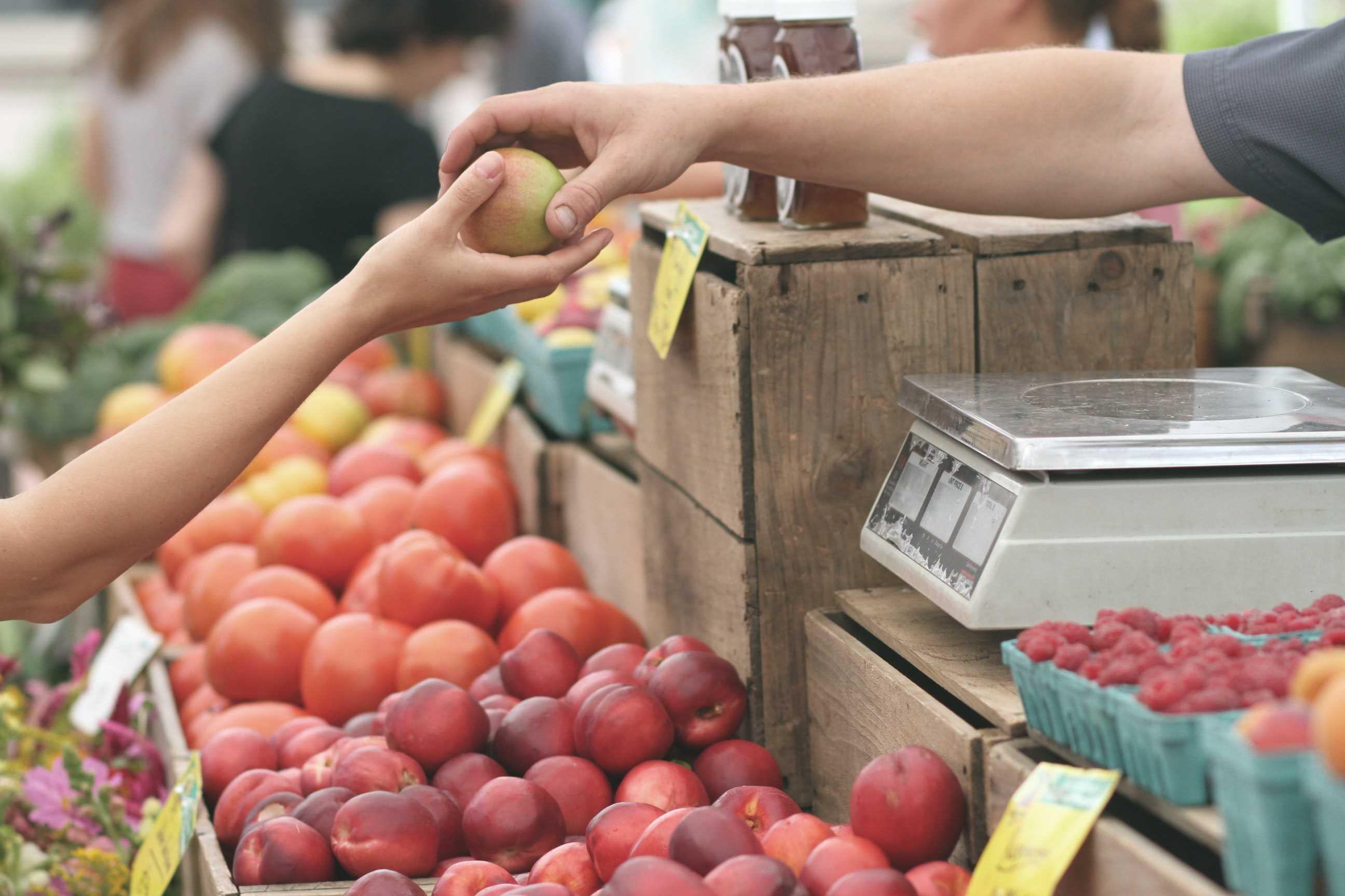 buy apples market