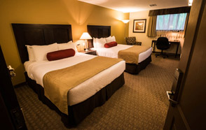 Standard Rooms with Two Queen beds  - Best Western Plus Baker Street Inn