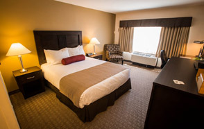 Spaciou Standard Rooms at the BEST WESTERN PLUS Baker Street Inn